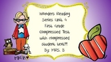 Wonders First Grade Weekly Assessment compressed Unit 4