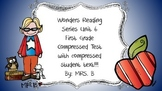Wonders First Grade Weekly Assessment compressed Unit 6