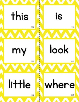 Wonders First Grade Word Wall Words