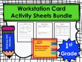 Wonders First Grade Workstation Card Activity Sheet Bundle