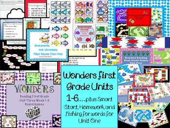 McGraw-Hill Wonders First GradeReading Games Plus More!