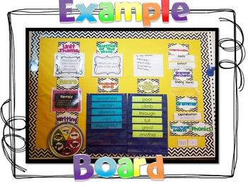 Wonders - Focus Board First Grade