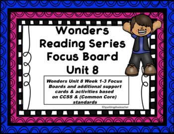 Wonders Focus Board McGraw/Hill Unit 8
