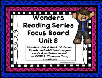Wonders Focus Board McGraw/Hill Unit 8