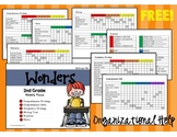 Wonders - Focus Board Organizational Tool - 2nd GRADE