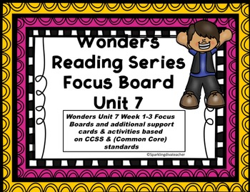 Wonders Focus Board Unit 7