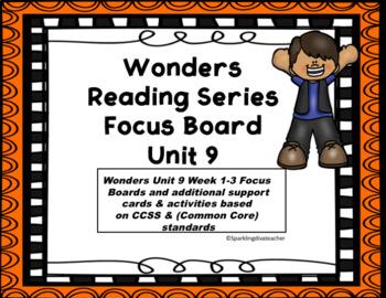 Wonders Focus Boards & Activities Unit 9 Common Core