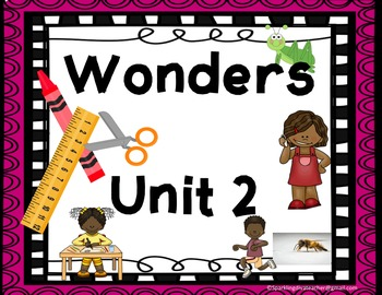 Wonders Focus Boards & Activities Unit 2 Common Core