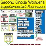 Wonders Focus Wall 2nd Grade