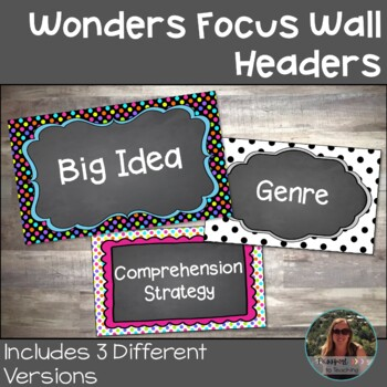 Wonders Focus Wall Headers