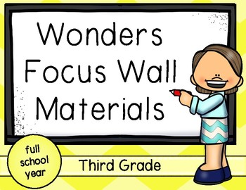 Wonders Focus Wall Materials for the Entire School Year: T