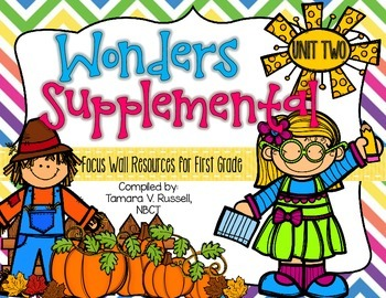 Wonders Focus Wall Resources Grade 1: Unit Two