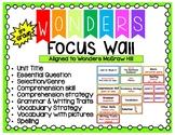 Wonders Focus Wall Third Grade (Units 1-6)