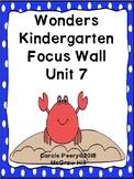 Wonders Kindergarten Focus Wall Unit 7