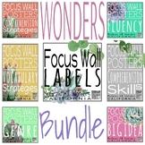 Wonders Focus Wall for Second Grade: Growing Bundle