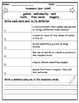 Wonders Fourth Grade Weekly Vocabulary Quizzes (Units 1 - 6)
