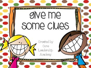Wonders Give me a Clue Game 6.5