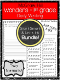Wonders Grade 1 BUNDLE Daily Writing and Reading Response