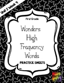 Wonders Grade 1 HFW Review Sheets Unit 2 Week 4 (S.Malek)