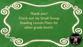 Wonders Grade 1 U2W1 Small Group Reading Instruction Unit Lesson Plans