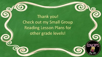 Wonders Grade 1 U2W2 Small Group Reading Instruction Unit Lesson Plans