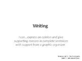 Wonders Grade 1 Unit 2 Week 1 Writing and Grammar PPT