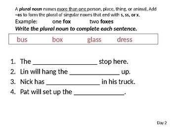 Wonders Grade 1 Unit 2 Week 2 Writing and Grammar PPT