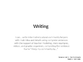 Wonders Grade 1 Unit 2 Week 4 Writing and Grammar PPT