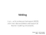 Wonders Grade 1 Unit 2 Week 5 Writing and Grammar PPT