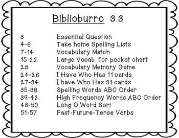 Wonders Grade 2 Biblioburro 3.3 { 7 Literacy Activities }