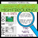 Wonders Grade 2 High Frequency Word Hunts: Magnifying Glass Fun!