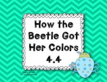 Wonders Grade 2 How the Beetle Got Her Colors 4.4 {8 Literacy Activities}
