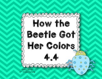 Wonders Grade 2 How the Beetle Got Her Colors 4.4 {8 Liter