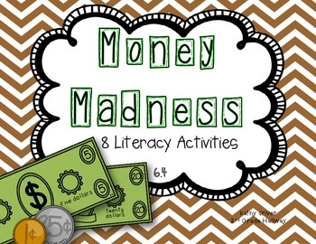 Wonders Grade 2 Money Madness 6.4 {8 Literacy Activities}