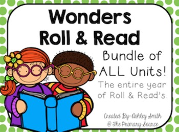 Wonders Grade 2 Roll & Read Bundle