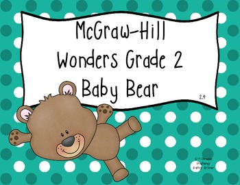 Wonders Grade 2 Unit 2 Story 4 Baby Bear {7 Vocabulary and Spelling Activities}