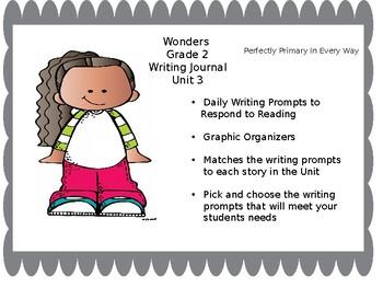 Wonders Grade 2 Unit 3 Writing Journal