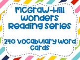 Wonders Grade 2 Vocabulary Cards