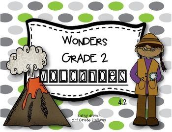 Wonders Grade 2 Volcanoes 4.2 {8 Literacy Activities}