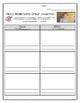 Wonders Grade 3 Cause & Effect Comprehension Skill Graphic Organizer