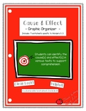 Wonders Grade 3 Cause & Effect Comprehension Skill Graphic