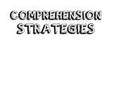 Wonders Grade 3 Focus Wall (Comprehension Strategies)