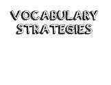 Wonders Grade 3 Focus Wall (Vocabulary Strategies)