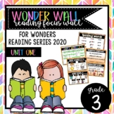 Wonders - Grade 3 Unit 1 Resources for Wonder Wall