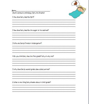 Wonders Grade 3 Unit 1 activities
