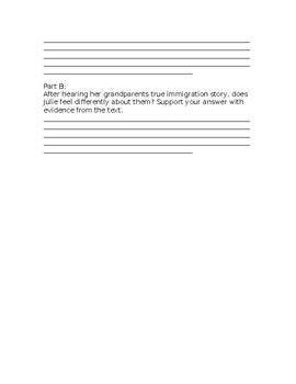 Wonders Grade 3 Unit 2 Week 2 Literature Anthology Comprehension Questions