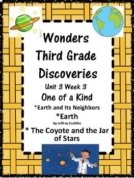 Wonders:  Grade 3:  Unit 3.3:  Discoveries