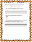 Wonders Grade 3 Unit 3 week 5 Shared Read Exit ticket