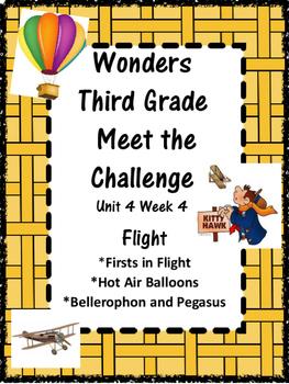 Wonders: Grade 3 Unit 4.4 Flight