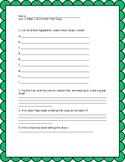 Wonders Grade 3 Unit 4 week 1 Shared Read Exit ticket